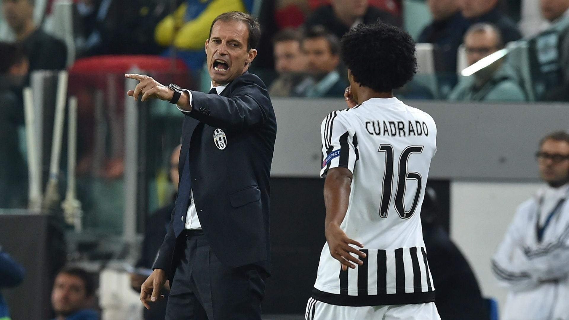 Juan Cuadrado & Allegri Juventus