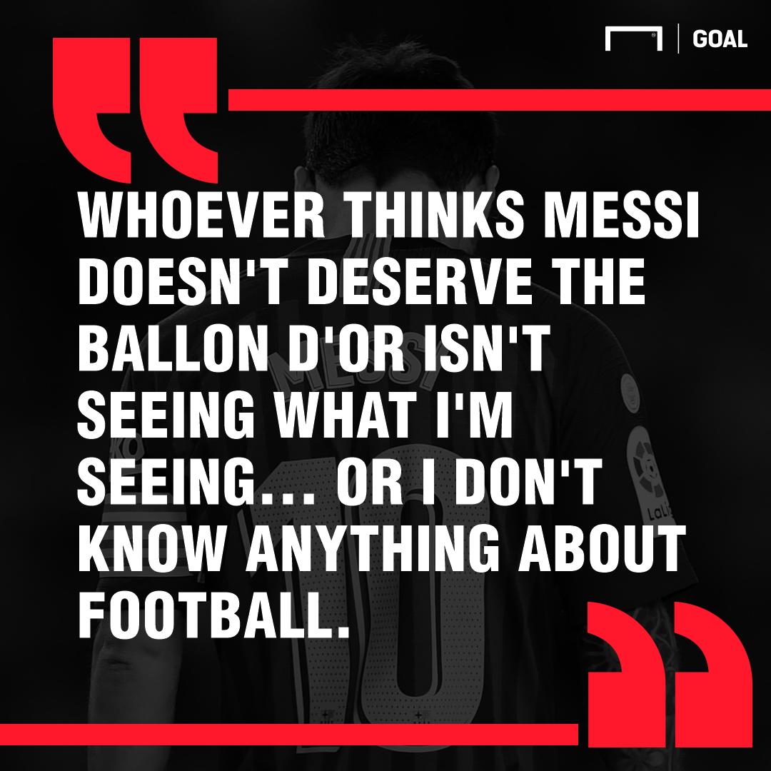 Filipe Luis on Messi