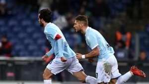 Marco Parolo Ciro Immobile Lazio Genoa Serie A