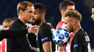 Tuchel Neymar PSG Estrela Vermelha Champions League 03 10 2018