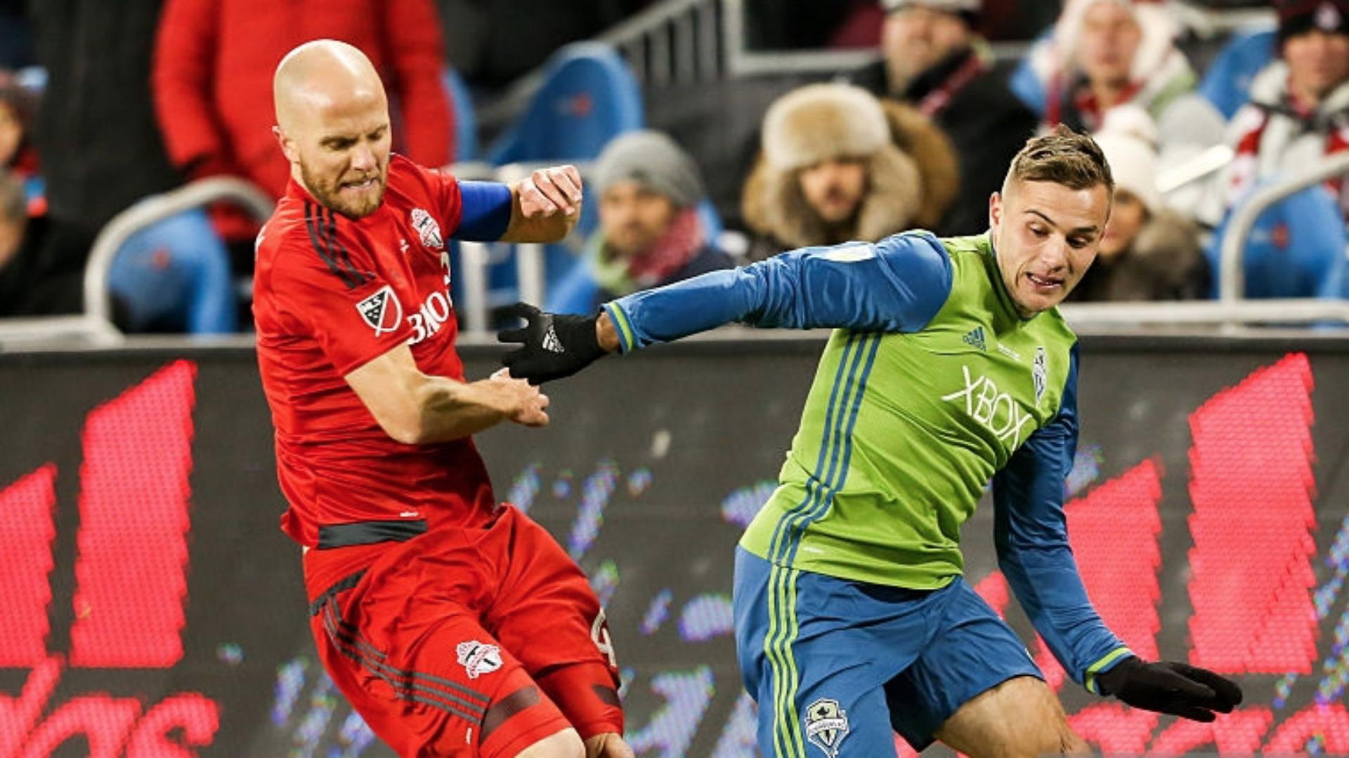 Michael Bradley Jordan Morris MLS Seattle Toronto FC 12092017