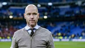 Erik ten Hag, Real Madrid - Ajax, 03052019