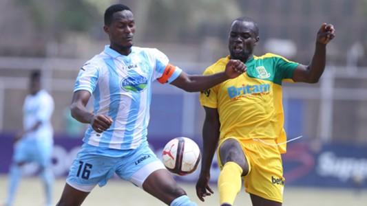 Mathare United v Thika United FC.