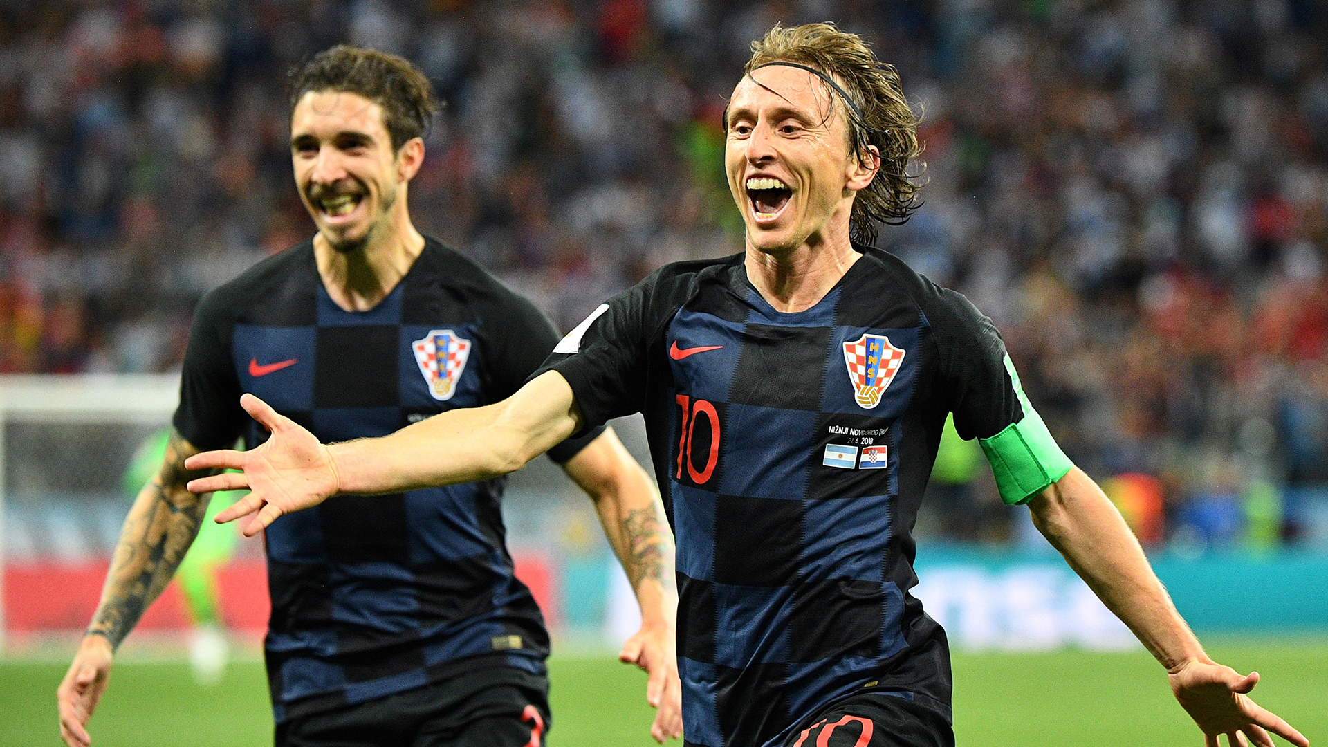 Croatia sink brave Iceland with late Perisic strike