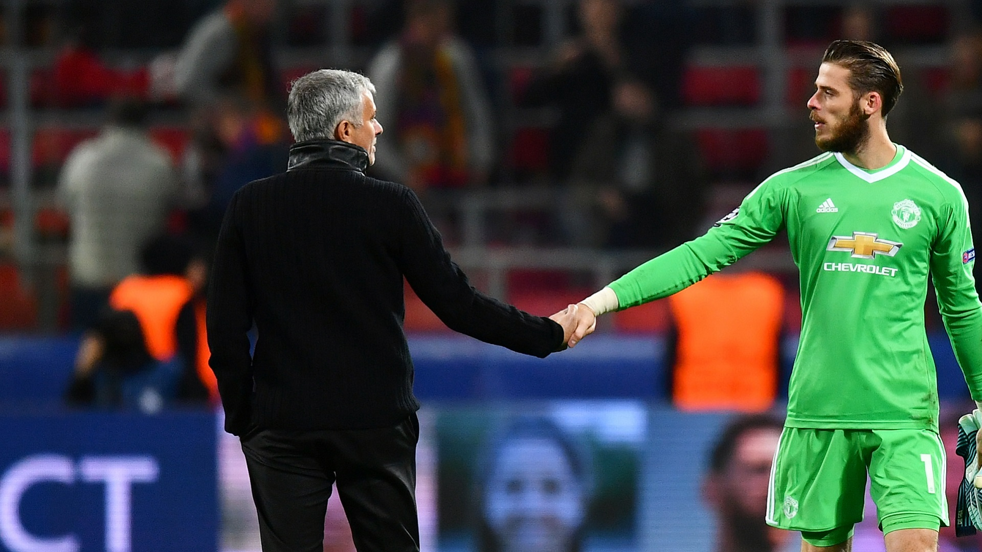 2018-02-11 De Gea Mourinho