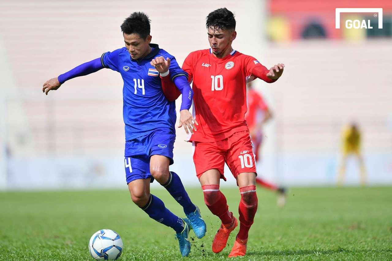 U22 Thái Lan U22 Philippines Bảng B SEA Games 29