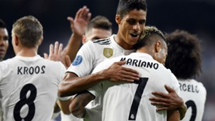 Varane Mariano Real Madrid Roma Champions League 19 09 2018