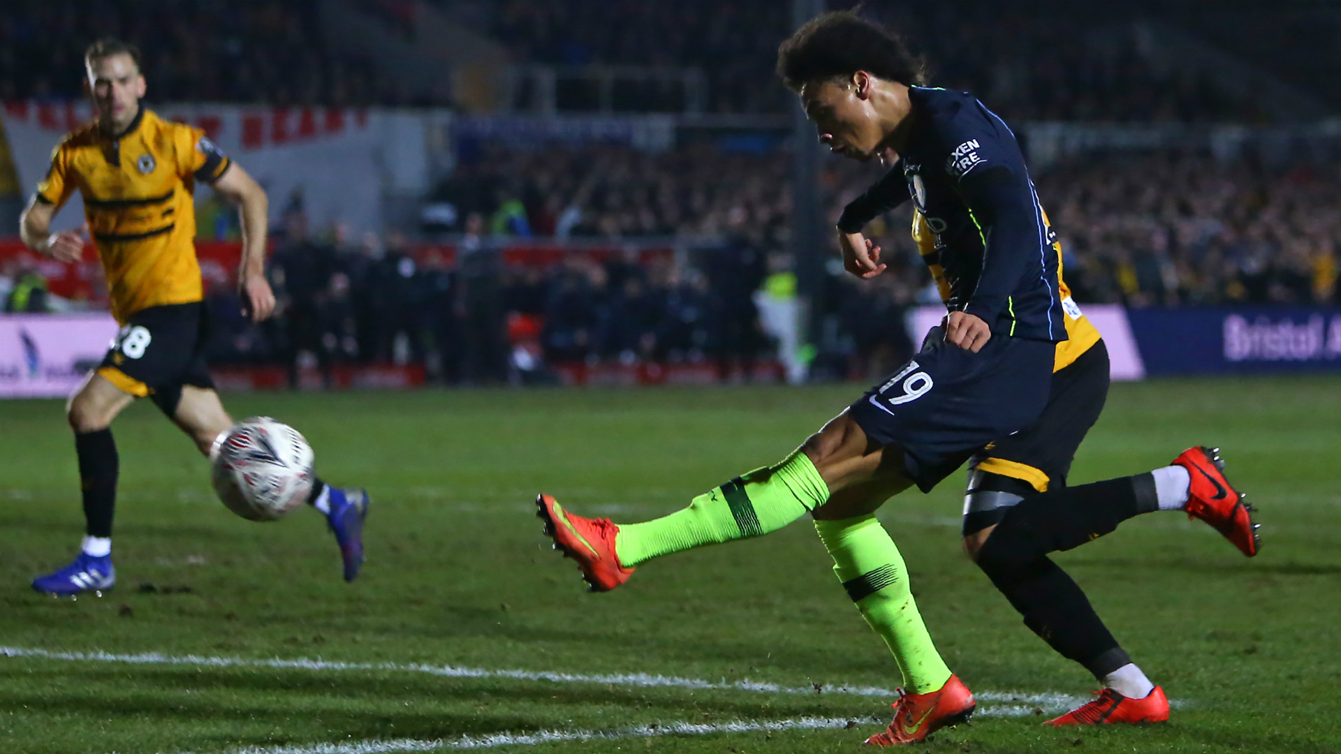 LEROY SANE MANCHESTER CITY FA CUP 16022019
