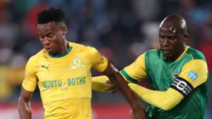 Themba Zwane, Sundowns & Musa Bilankulu, Golden Arrows, May 2019