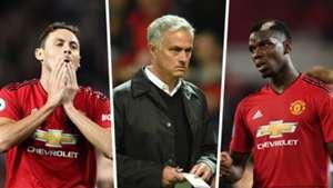 Nemanja Matic Jose Mourinho Paul Pogba split