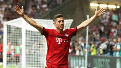 Robert Lewandowski Bayern Munich German Super Cup 2018