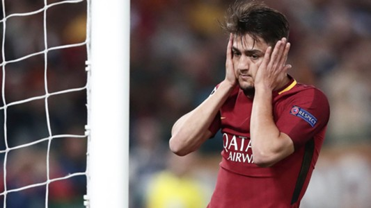 Cengiz Under Roma Liverpool Champions League