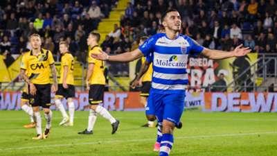Mustafa Saymak, NAC Breda - PEC Zwolle, Eredivisie, 22102017