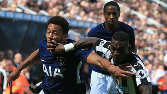 Mousa Dembele Tottenham Christian Atsu Newcastle