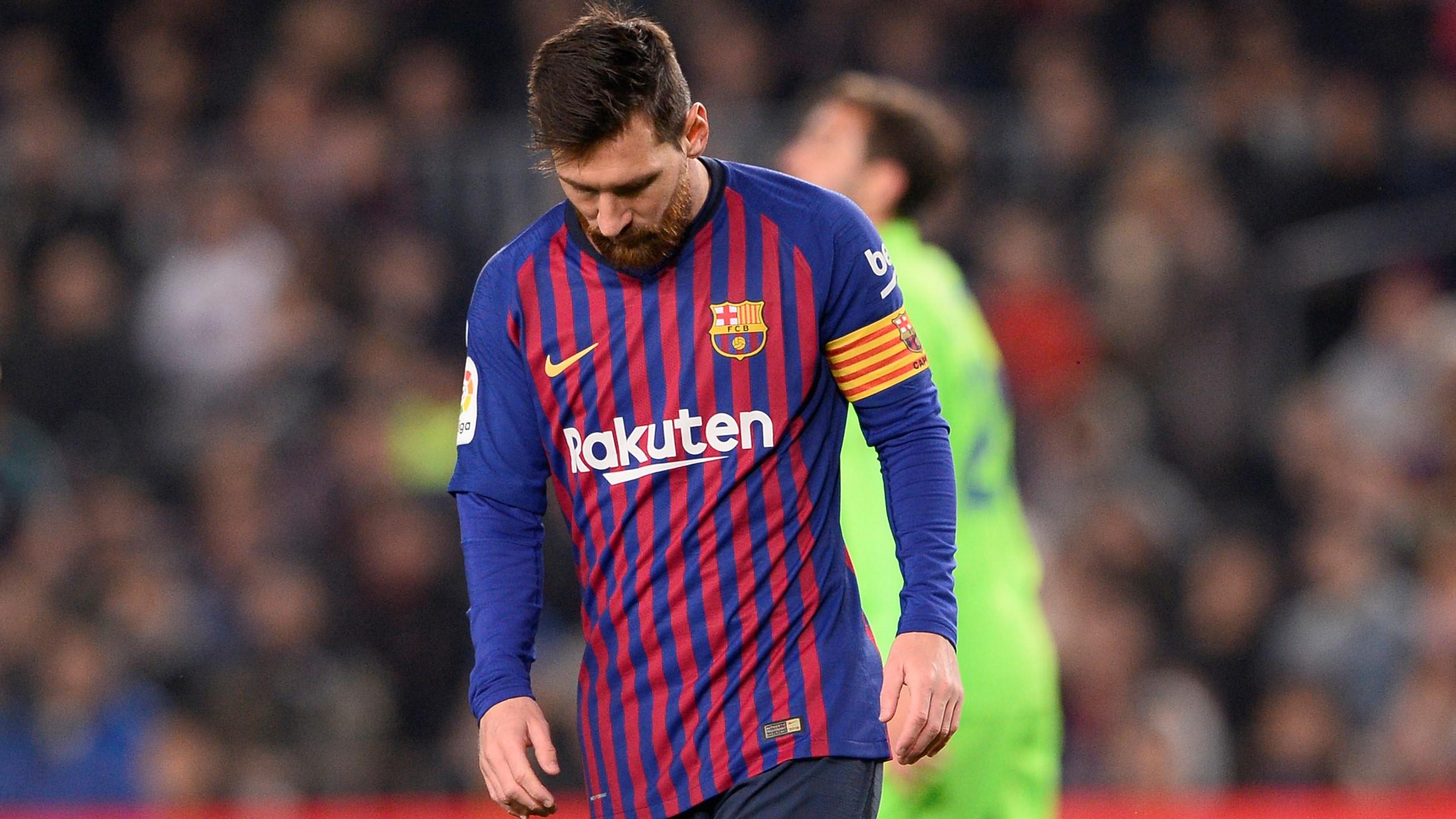 Cómo le fue al Barcelona con Messi de suplente