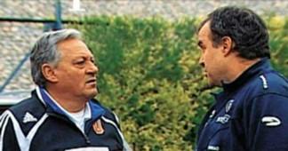 Arturo Salah y Marcelo Bielsa