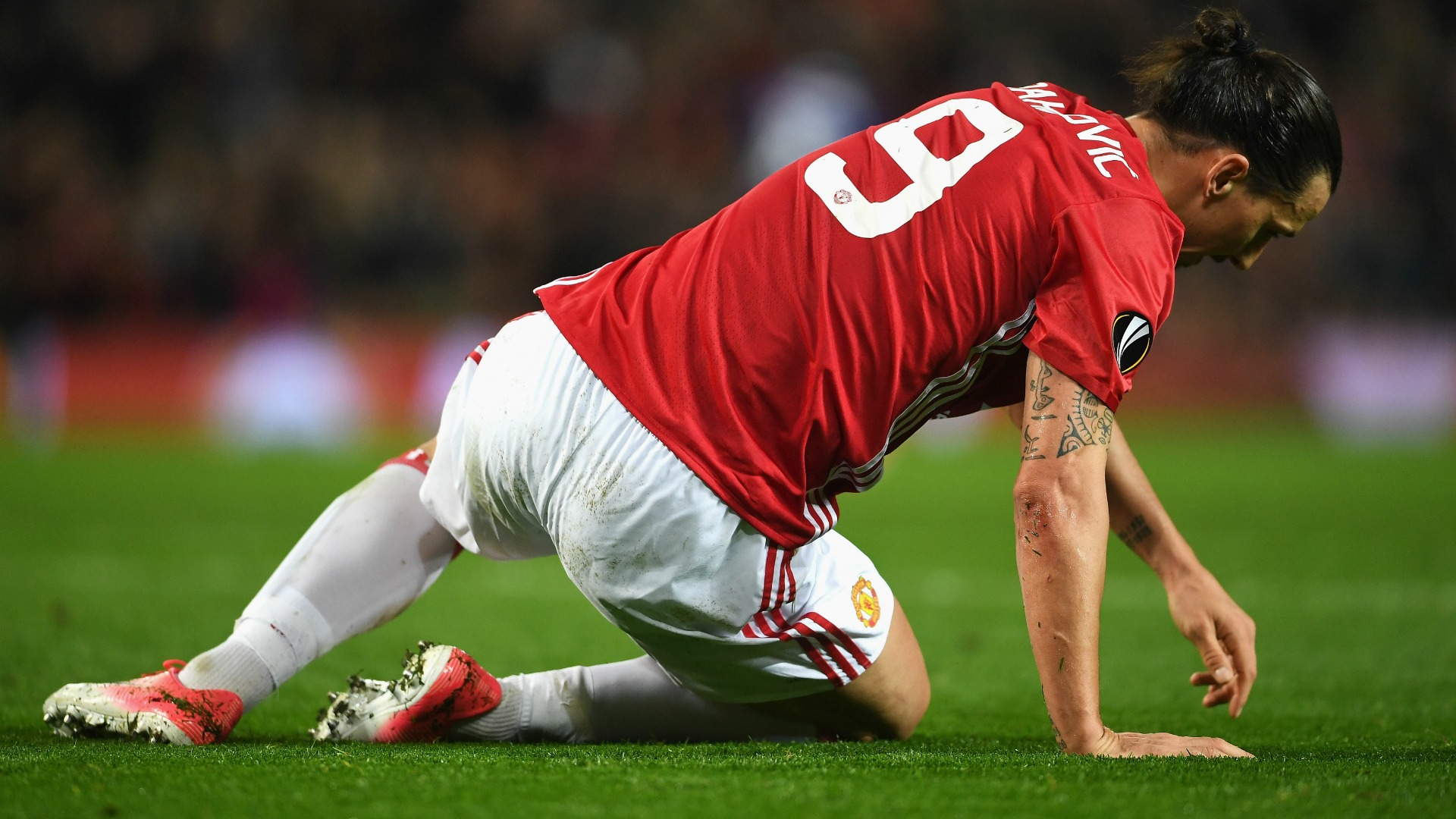 Ibrahimovic Manchester United Anderlecht