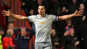 Zlatan Ibrahimovic Manchester United Bristol City