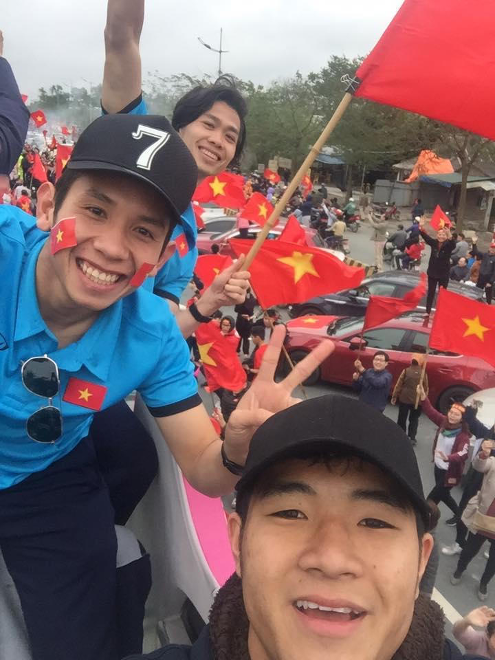 Cầu thủ U23 Việt Nam về nước