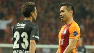 Galatasaray Besiktas Kagawa Nagatomo 04052019