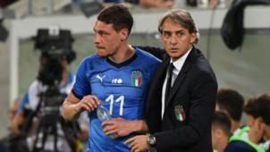 Andrea Belotti Roberto Mancini Italy Saudi Arabia