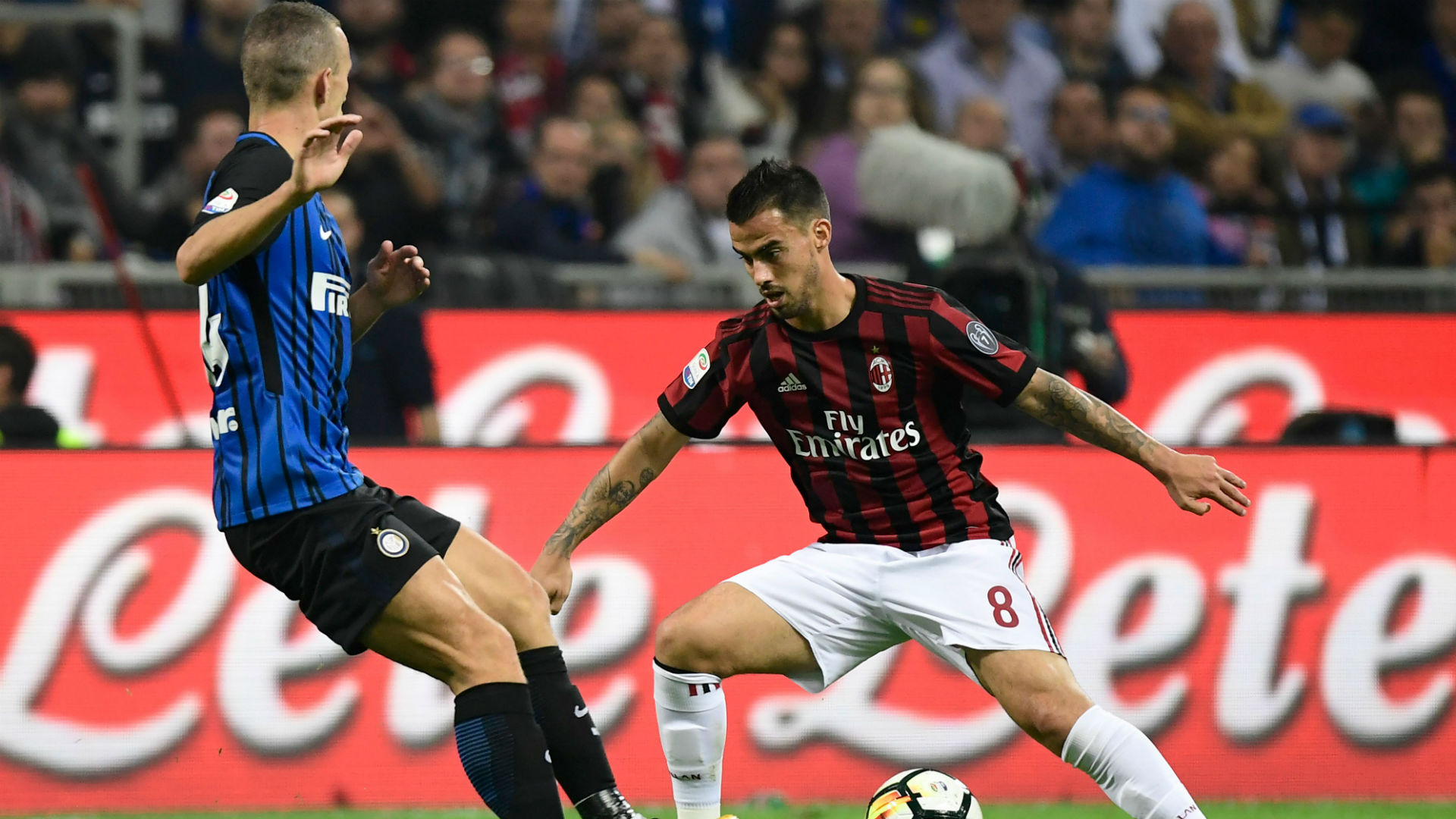 Milan-Inter, Suso a Rai Sport: