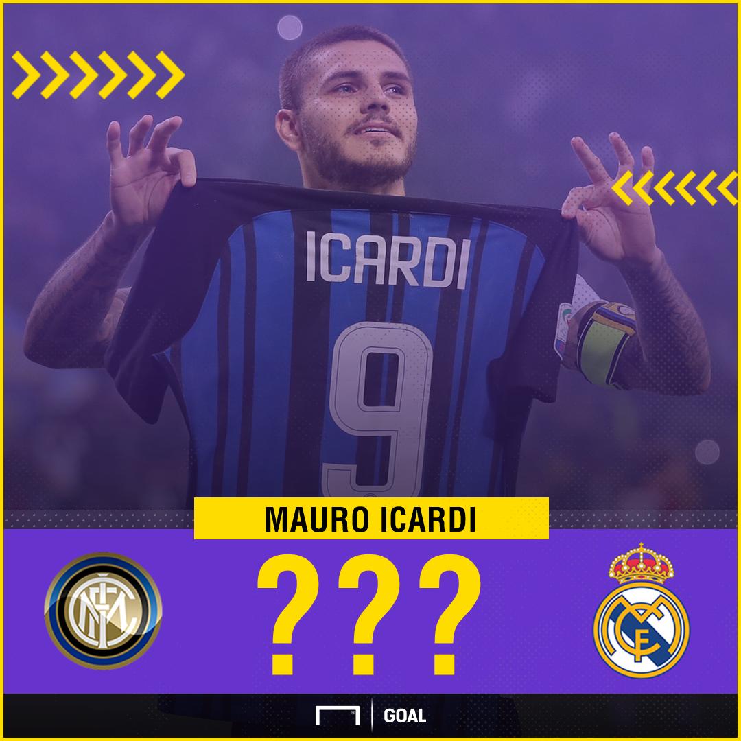 Mauro Icardi Real Madrid link