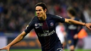 Edinson Cavani PSG Monaco Coupe de la Ligue 01042017