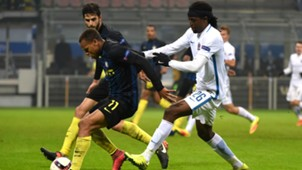 Jonathan Biabiany Costa Inter Sparta Praha UEFA Europa League 08122016