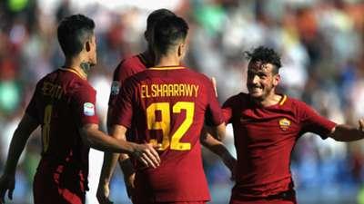 Roma celebrates Udinese Serie A