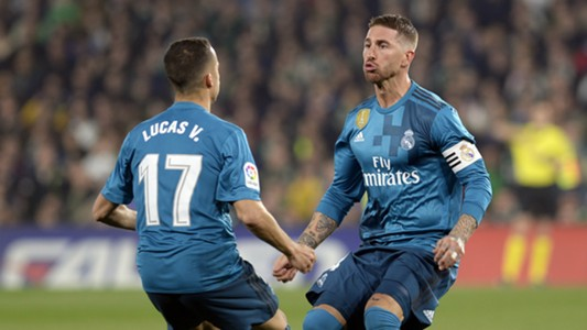 Sergio Ramos Lucas Vazquez Real Madrid Betis