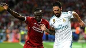 Isco Alarcon Sadio Mane Real Madrid Liverpool UCL