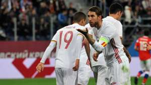 Sergio Ramos Spain Russia Friendly