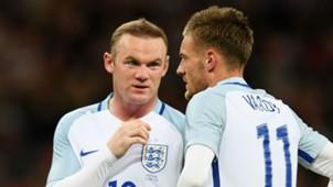 Wayne Rooney; Jamie Vardy