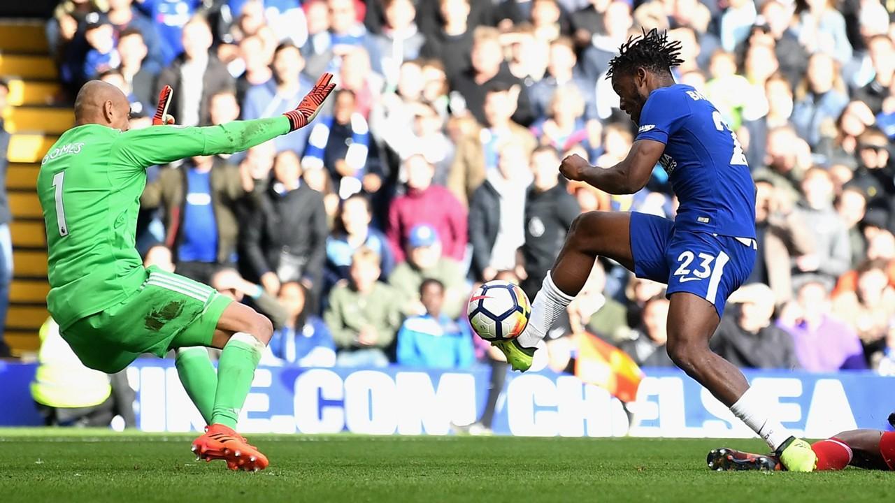 Michy Batshuayi Chelsea Watford Premier League