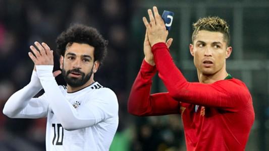 Mohamed Salah, Cristiano Ronaldo
