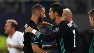 Cristiano Ronaldo, Karim Benzema, Real Madrid, 17/18