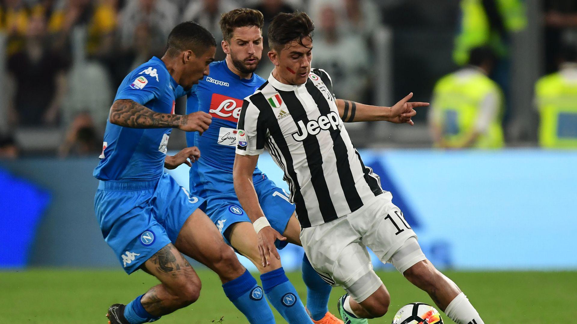 Paulo Dybala Juventus Napoli Serie A