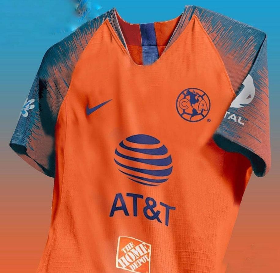 América posible tercer uniforme Apertura 2018