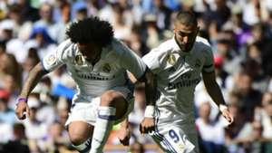 Marcelo Karim Benzema Real Madrid Atletico Madrid La Liga