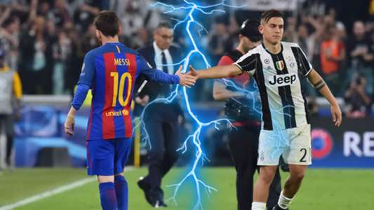 Lionel Messi Paulo Dybala composite