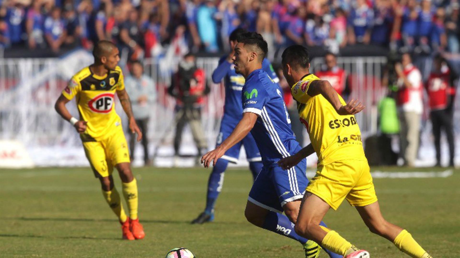U. de Chile sufrió dura derrota ante un sólido San Luis