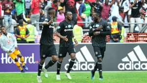 Orlando Pirates, Justin Shonga, November 2018