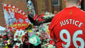 Liverpool Hillsborough memorial