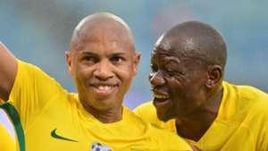 Andile Jali and Hlompho Kekana Bafana Bafana