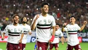 Raul Jimenez Mexico Haiti Gold Cup 2019