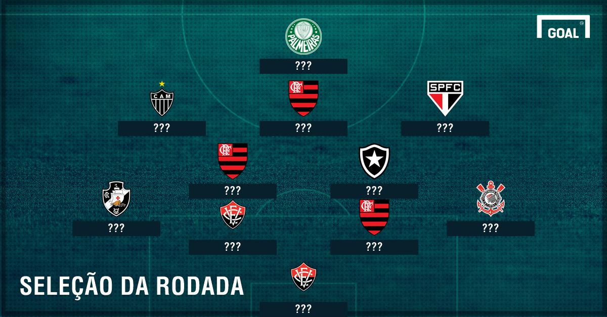 Seleção da 22ª rodada do Brasileirão