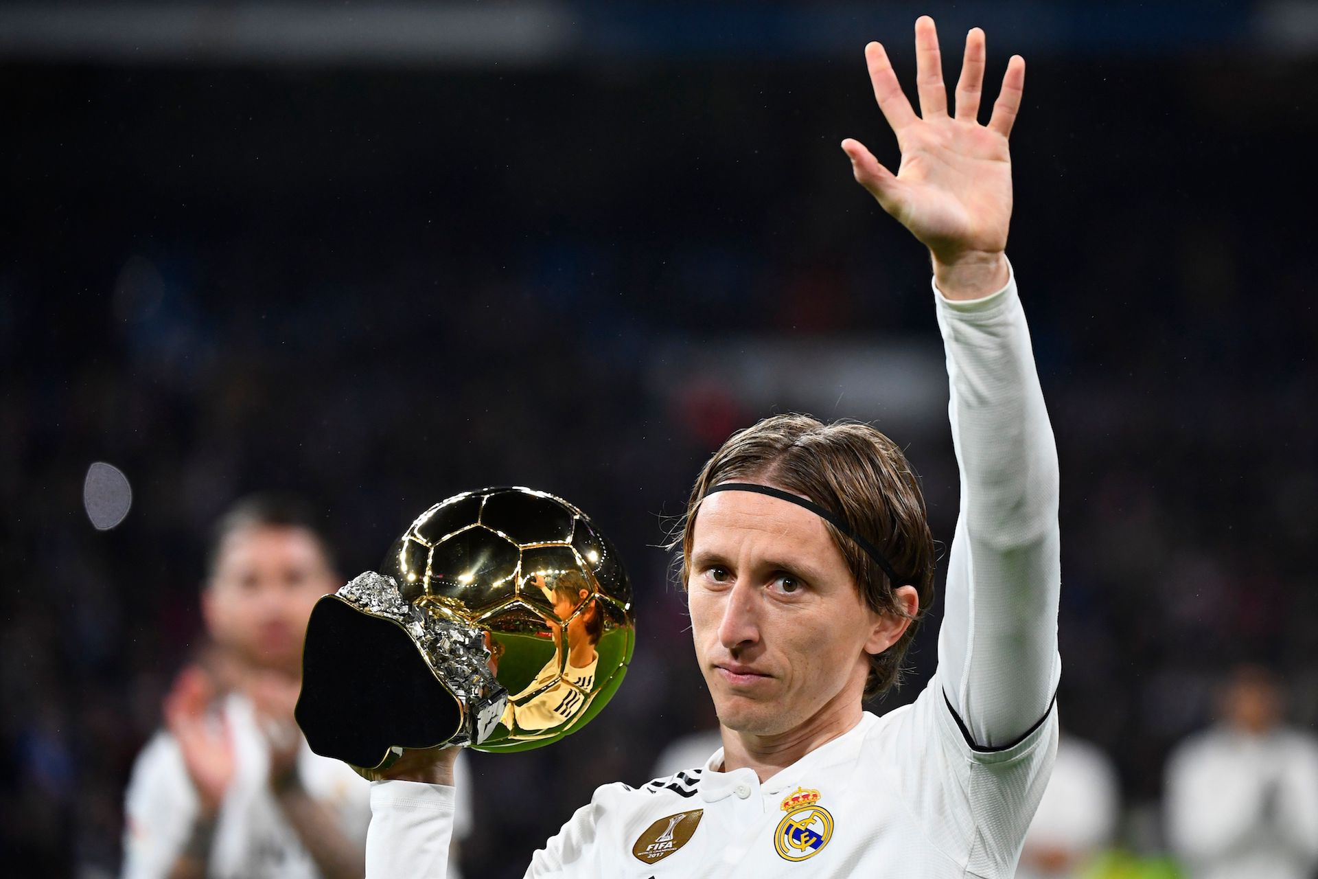 Ballon d'Or, Modric tacle violemment Messi et Ronaldo — Real Madrid