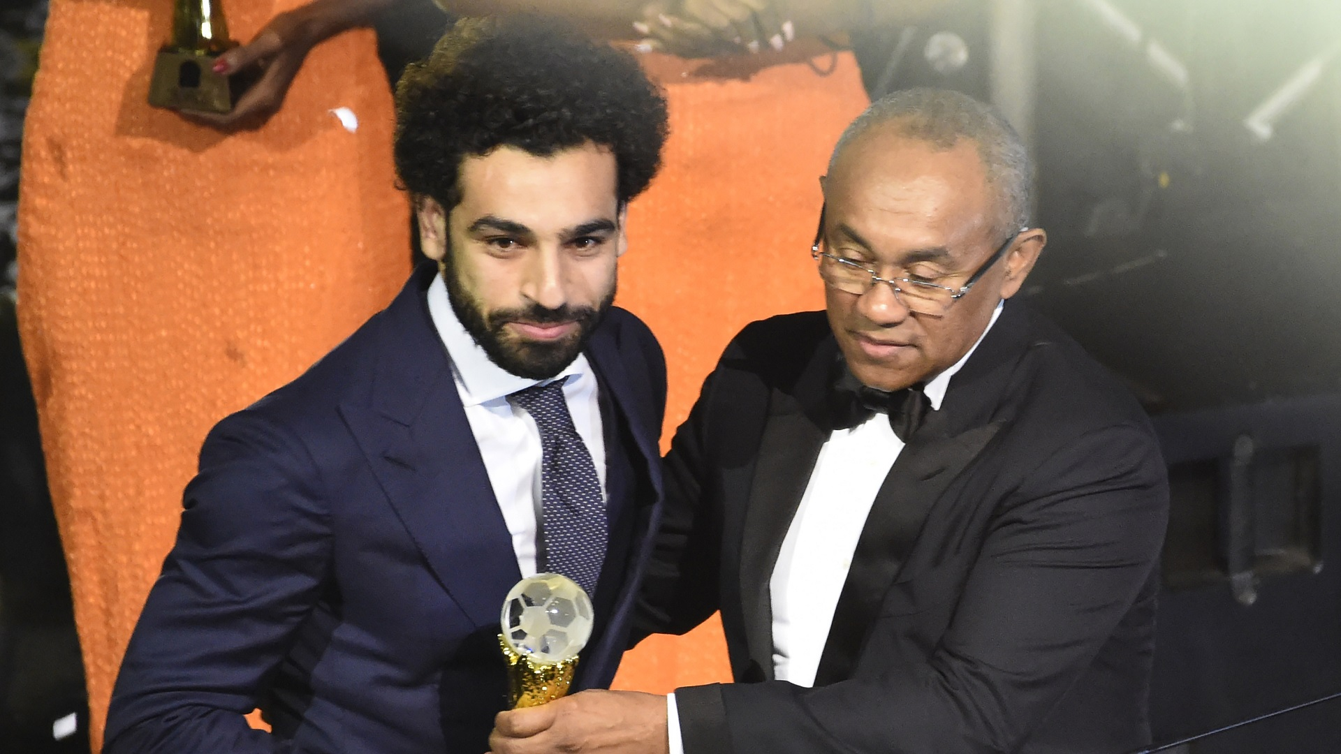 Mohamed Salah Ahmad Ahmad CAF Football Awards 2018