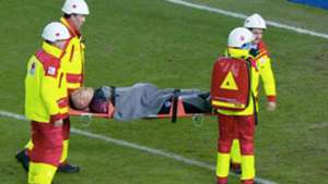 Vukovic injured by own teammate in Europa League loss